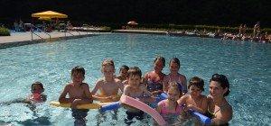 Schwimmkurs der Vorschulklasse Blattur