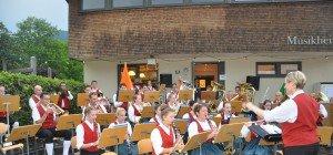 Weiler Musikanten wetterfest