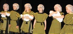 Volksschüler bezauberten mit Bienenmusical
