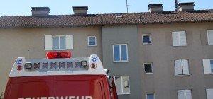 Pfanne mit Öl fing Feuer: Brand in Wohnung in Bregenz