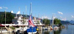 """Edle Weine bei der """"wein:gut:kost am See"""" auf der Alten Fähre im Lochauer Hafen"""