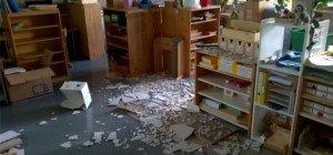 Mittelweiherburg: Harder Volksschülern fällt Decke auf den Kopf