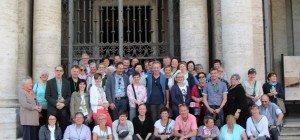 Bilder der Romreise Pfarre Bezau
