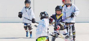 Ball Hockey Event in Hard zu Gast