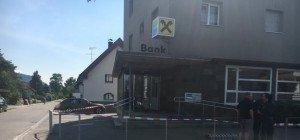 Banküberfall in Hohenems – Täter ist flüchtig