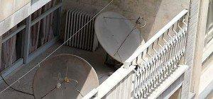 Iranische Behörden zerstörten 100.000 Satelliten-Schüsseln