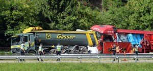Deutsche Familie stirbt bei Unfall am Gotthardtunnel