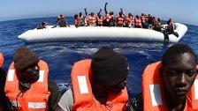 Italien will Flüchtlinge mit Kampagne abschrecken
