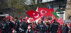 Aufgeheizte Stimmung vor Türken-Großdemo in Köln