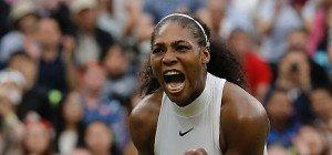 Serena Williams mit viel Mühe in Runde drei