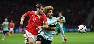 Wales nach 3:1 über Belgien im Halbfinale gegen Portugal