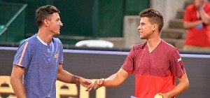 Novak/Thiem überraschend im Doppel-Finale von Kitzbühel