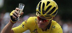 Froome zum dritten Mal Sieger der Tour de France