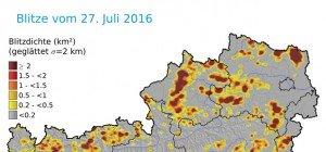 Unwetter im Flachgau und Teilen Österreichs: Muren und Überflutungen