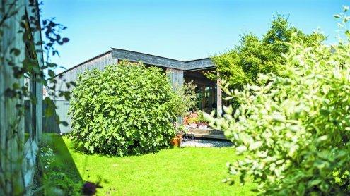 Veranda mit Haus in Dornbirn
