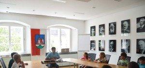 Schulklassen zu Besuch im Rathaus