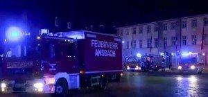 Sprengsatz in Ansbach in Bayern detoniert: Toter, Verletzte