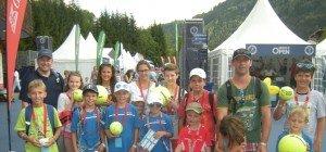 Nachwuchs des Tennisclub Nenzing in Kitzbühel