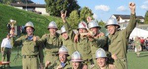 Freiwillige Feuerwehr Müselbach gewinnt goldenes Strahlrohr!
