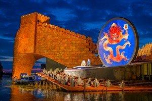 """So schön wird """"Turandot"""" auf der Seebühne"""