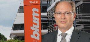 Bilanz: Vorarlberger Beschlägehersteller Blum weiter auf Wachstumskurs