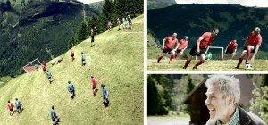 """""""Extreme Alpine Soccer"""" im Montafon sorgt derzeit für Aufsehen"""