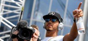 Hamilton übernahm mit Ungarn-Sieg von Rosberg WM-Führung