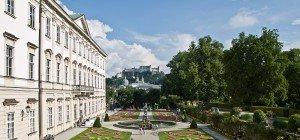 Wachdienst patrouilliert in Salzburger Mirabellgarten