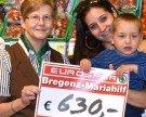 SPAR Bregenz-Mariahilf spendet 630 Euro für guten Zweck