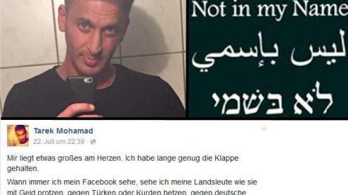 """Muslim stellt klar: """"Wir haben die Menschen hier zu respektieren!"""""""
