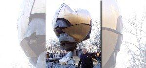 Skulptur von deutschem Künstler soll zurück auf Ground Zero