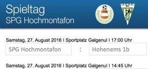 Heimspiel in St. Gallenkirch