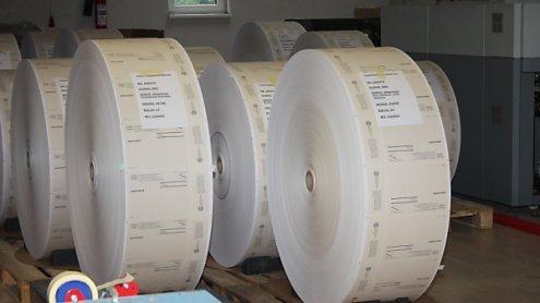 42,3 Tonnen Papier und elf kg Farbe für 9,2 Mio. Stimmzettel
