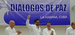 Kolumbiens Regierung und FARC-Rebellen schlossen Frieden