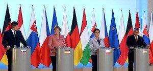 Visegrad-Staaten und Merkel für stärkere EU-Zusammenarbeit