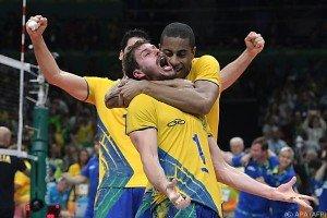 Brasiliens Volleyballer zum dritten Mal Olympiasieger