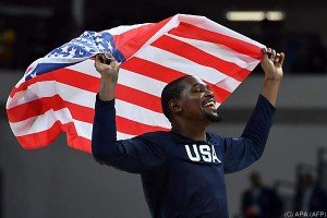 US-Herren holten zum dritten Mal in Serie Basketball-Gold