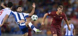 FC Porto steht nach 3:0 in Rom in Champions League