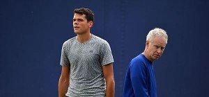 McEnroe beendete Zusammenarbeit mit Milos Raonic