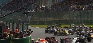 Belgien-Grand-Prix nach Unterbrechung neu gestartet