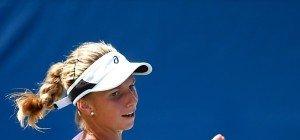 Barbara Haas in erster US-Open-Runde hauchdünn gescheitert