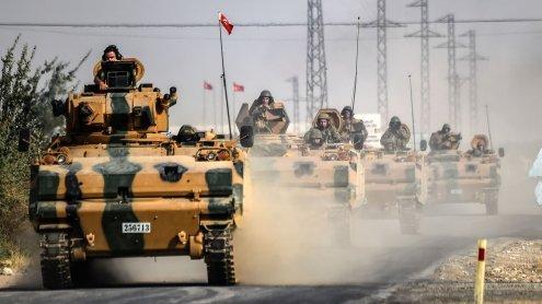 Türkei und Verbündete rücken in Syrien vor - Kämpfe mit Kurden