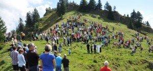 Bergmesse auf dem Hochhäderich findet am Sonntag statt