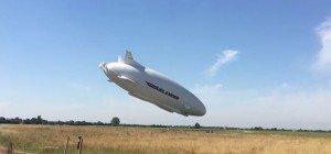 Der wohl unspektakulärste Absturz eines Zeppelins