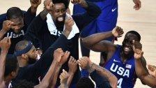 US-Dreamteam holt Gold im Basketball