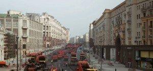 Wow! Prachtstraße in Moskau in nur einem Tag asphaltiert