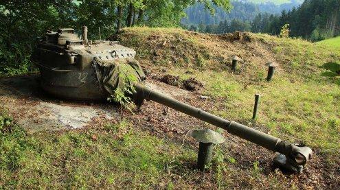"""Kalter Krieg in Vorarlberg vorbei: Panzertürme beenden """"Wacht"""""""