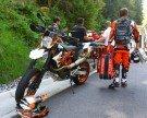 Motorradfahrer nach Sturz schwer verletzt