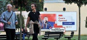 Hohe Beteiligung an bosnisch-serbischem Referendum