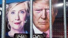 Wahlkampf-Höhepunkt: Clinton gegen Trump